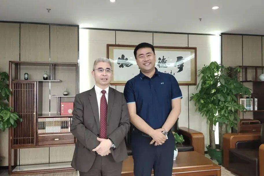 【转载】新加坡全球股权交易所董事会主席走访深圳施罗德工业集团