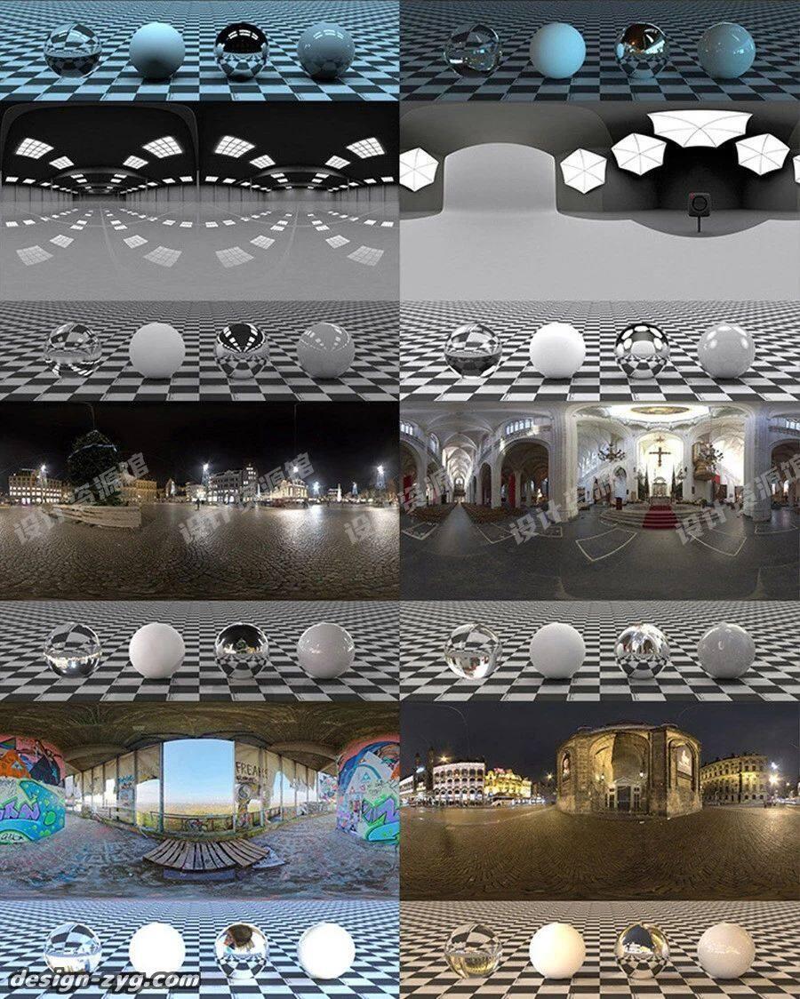1600张HDRI天空环境贴图合集,这是什么神仙3D贴图!【762期】插图8