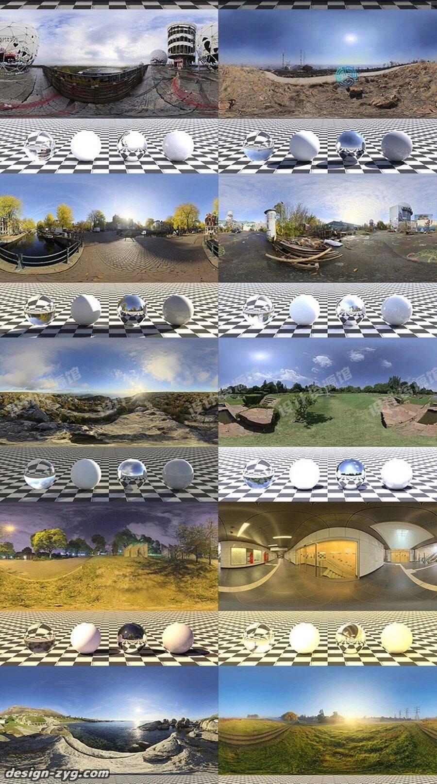 1600张HDRI天空环境贴图合集,这是什么神仙3D贴图!【762期】插图10
