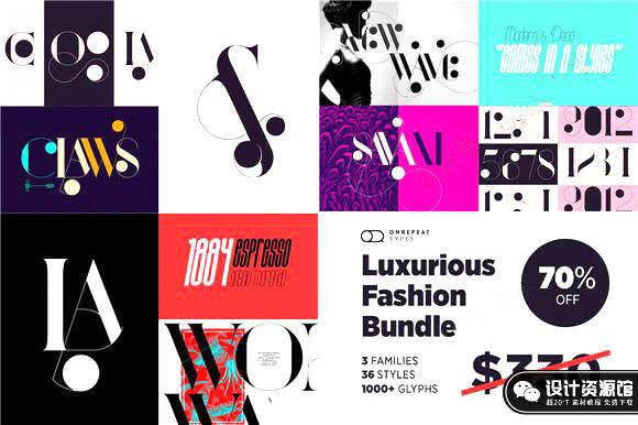 36款封面海报艺术高逼格字体,让设计更简单【524期】