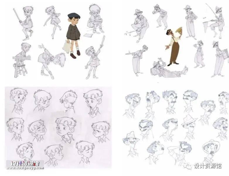 插画图集合集资源|迪士尼设计稿+欧美可爱女生插画图集+韩国治愈系插画图集【706期】插图10