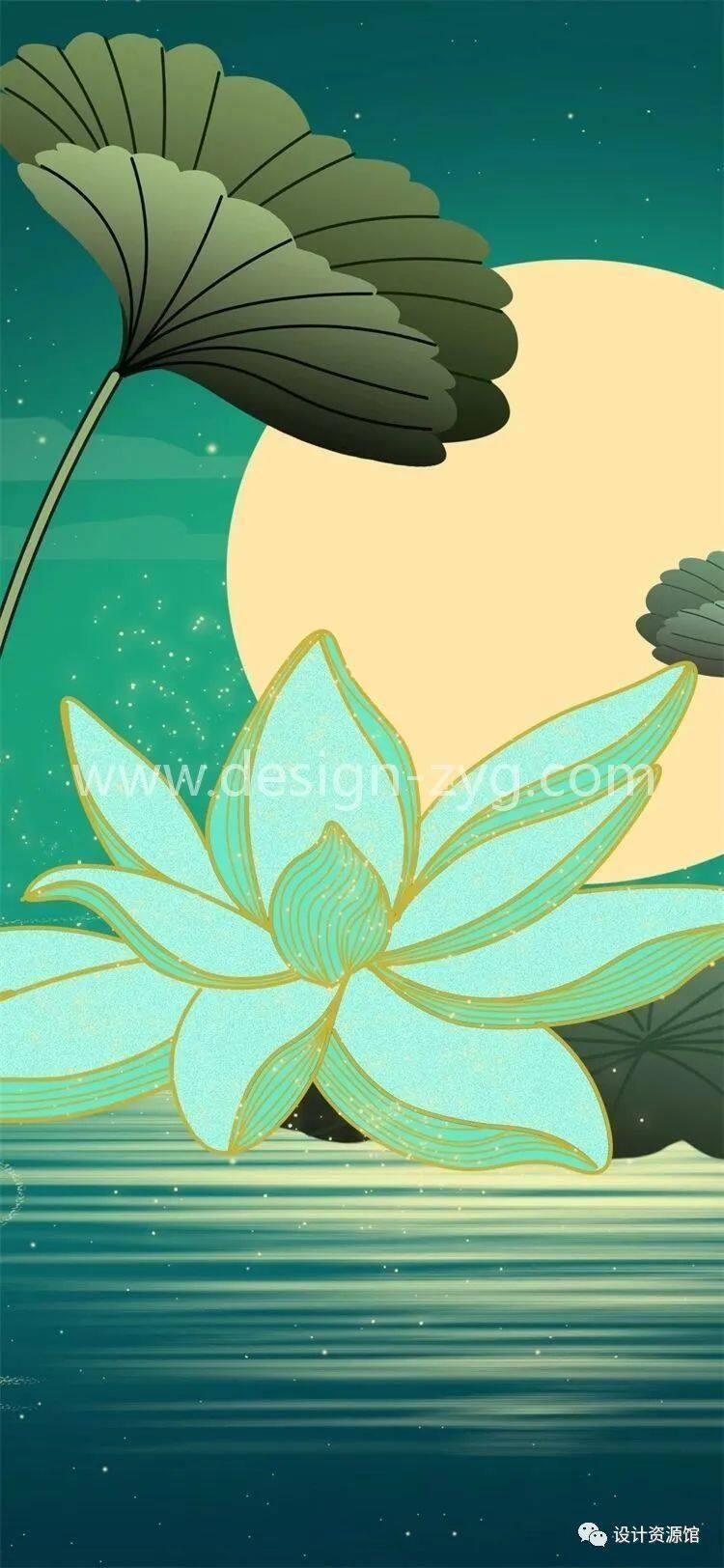 中国风合集 中国传统纹样锦集+中国风精美潮流插画+精美纸质纹理素材【712期】插图13