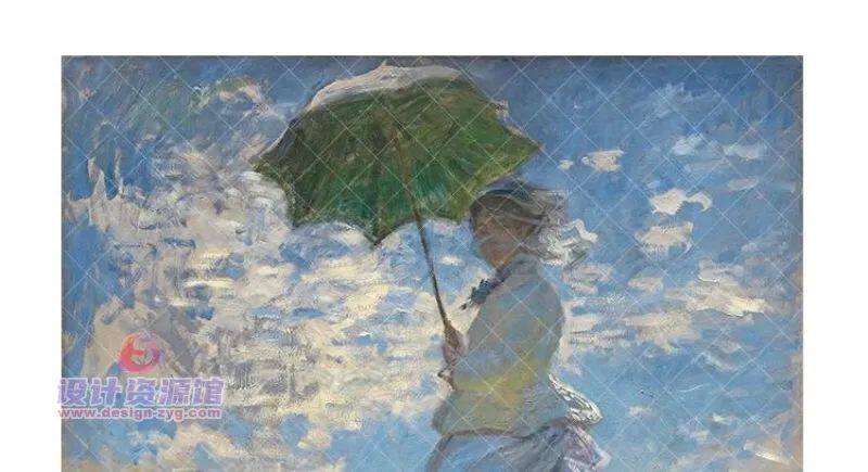 莫奈油画全集1573幅|一幅《干草堆》拍卖了6亿,他的画究竟有多厉害【714期】插图13
