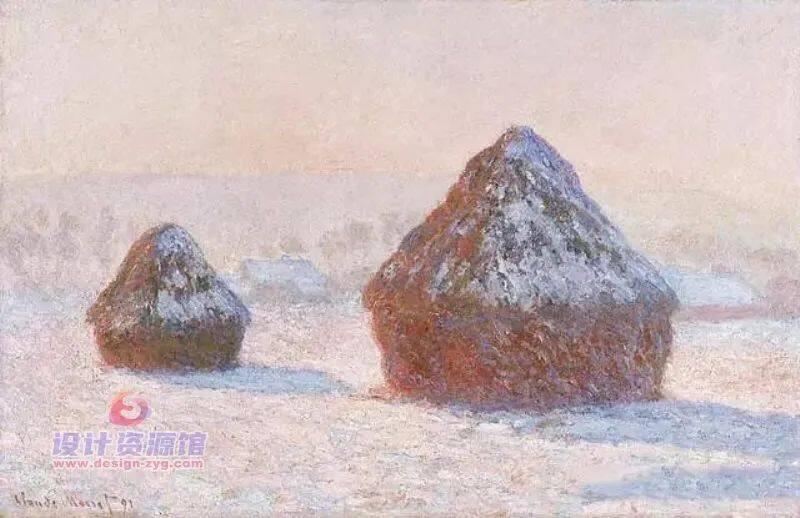 莫奈油画全集1573幅|一幅《干草堆》拍卖了6亿,他的画究竟有多厉害【714期】插图2