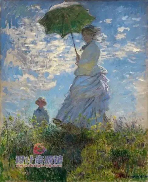 莫奈油画全集1573幅|一幅《干草堆》拍卖了6亿,他的画究竟有多厉害【714期】插图7