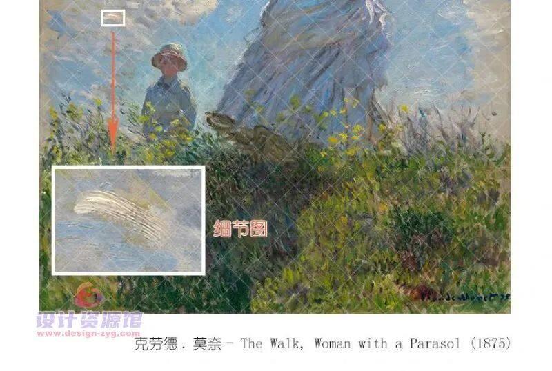 莫奈油画全集1573幅|一幅《干草堆》拍卖了6亿,他的画究竟有多厉害【714期】插图14