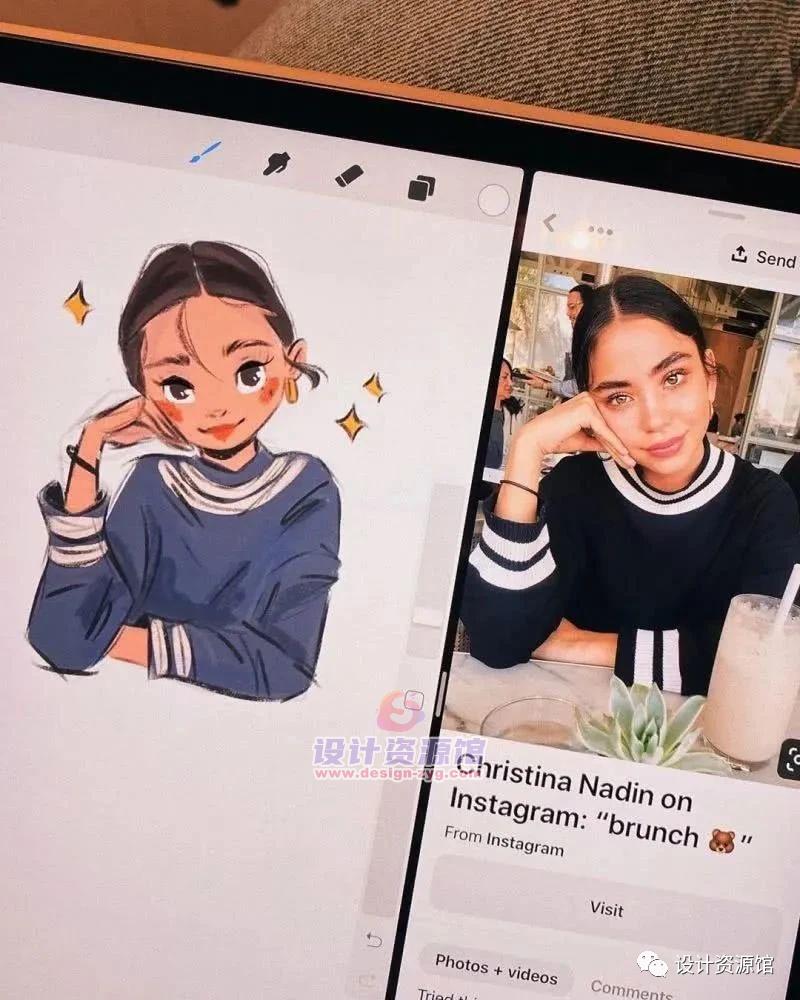 看完Sara Faber的iPad手绘,感觉她的手比滤镜还好用!【716期】插图13