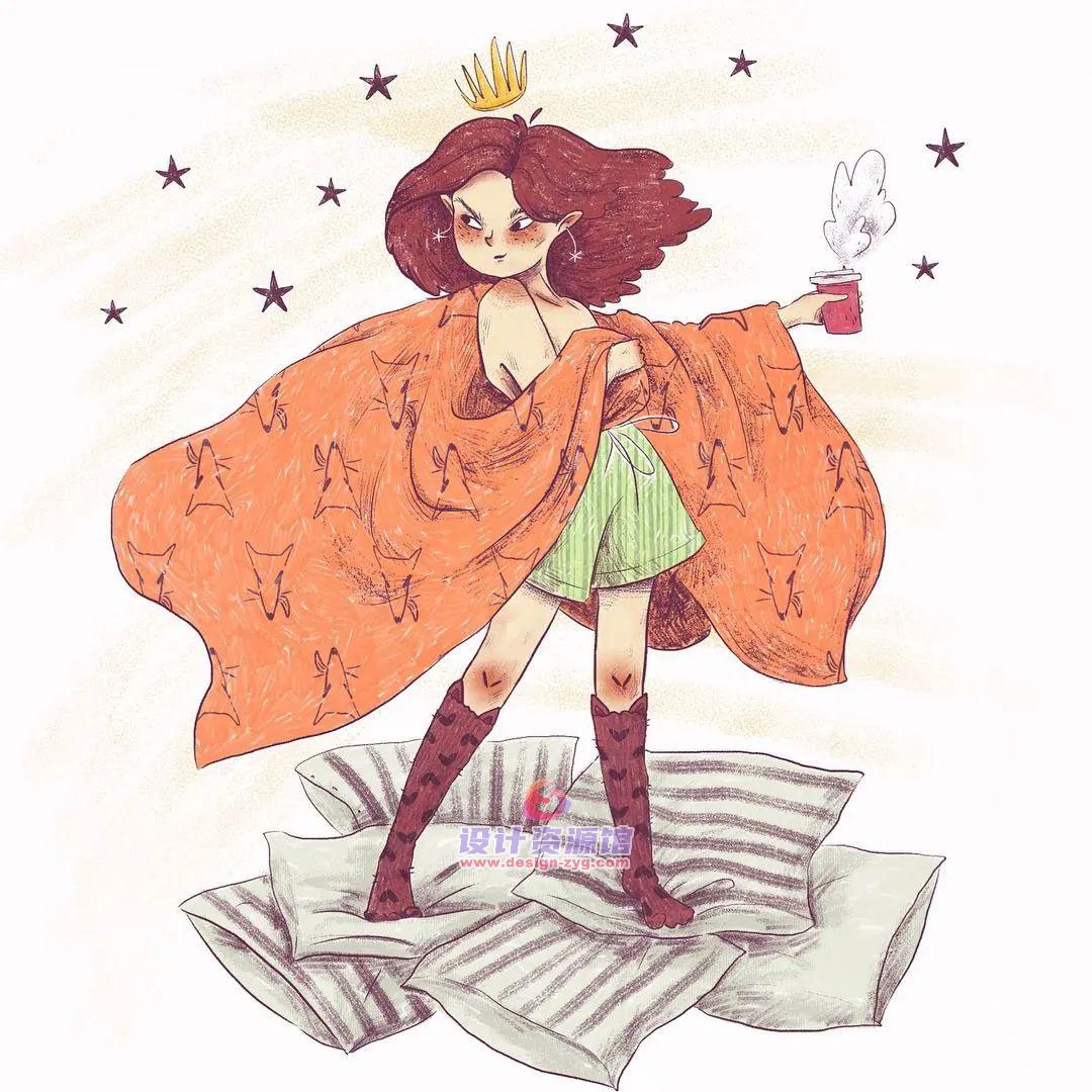 最值得收藏的欧美儿童插画绘本,精选10890P大神作品【718期】插图4
