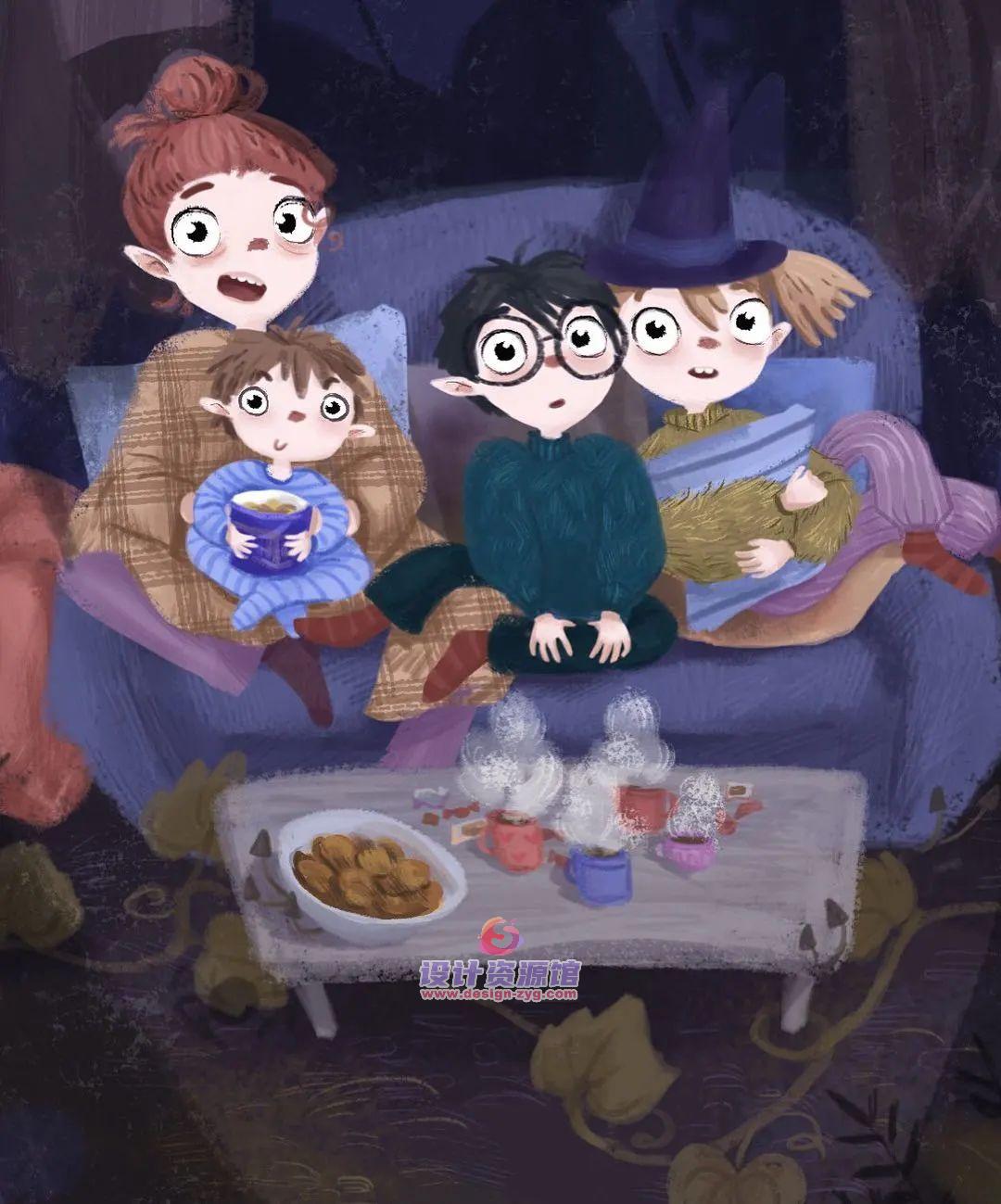 最值得收藏的欧美儿童插画绘本,精选10890P大神作品【718期】插图13