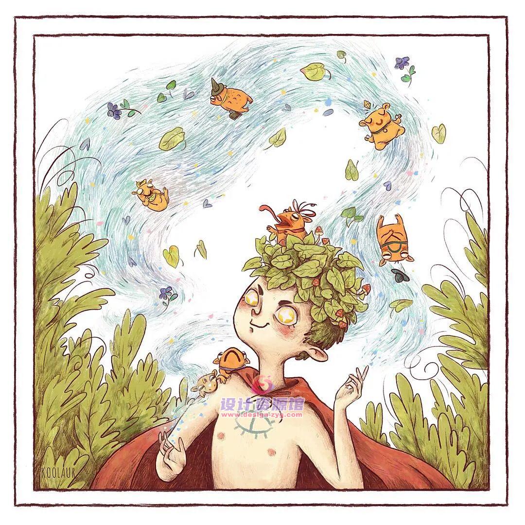 最值得收藏的欧美儿童插画绘本,精选10890P大神作品【718期】插图9