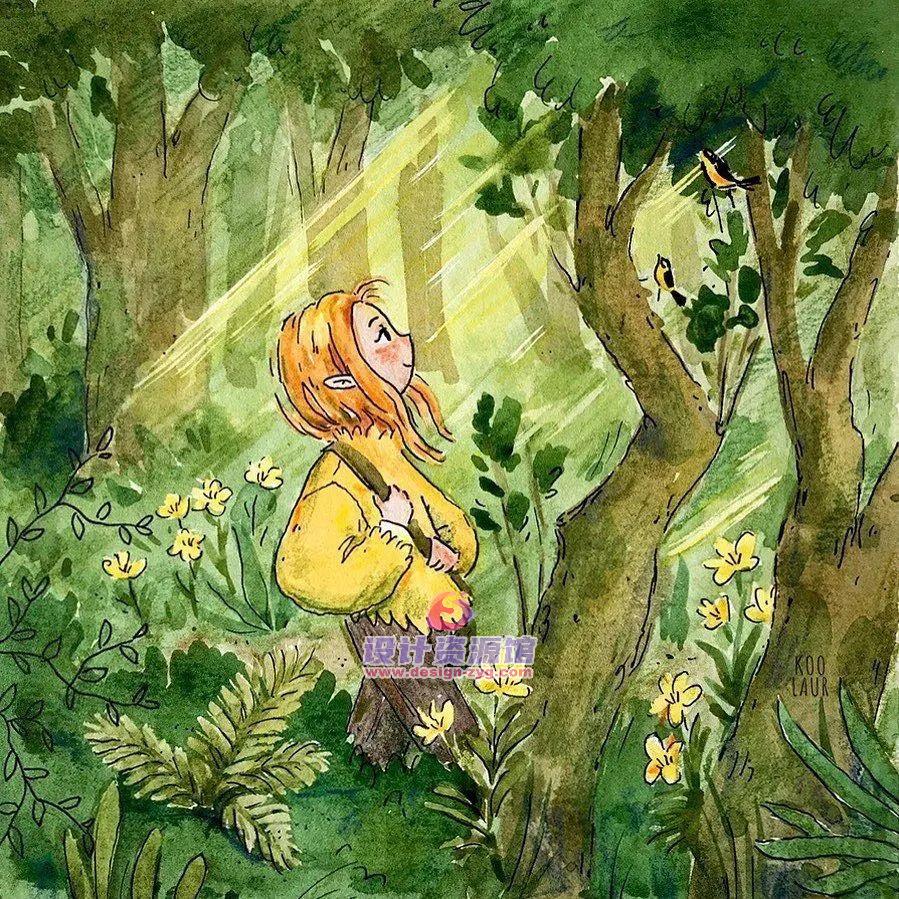 最值得收藏的欧美儿童插画绘本,精选10890P大神作品【718期】