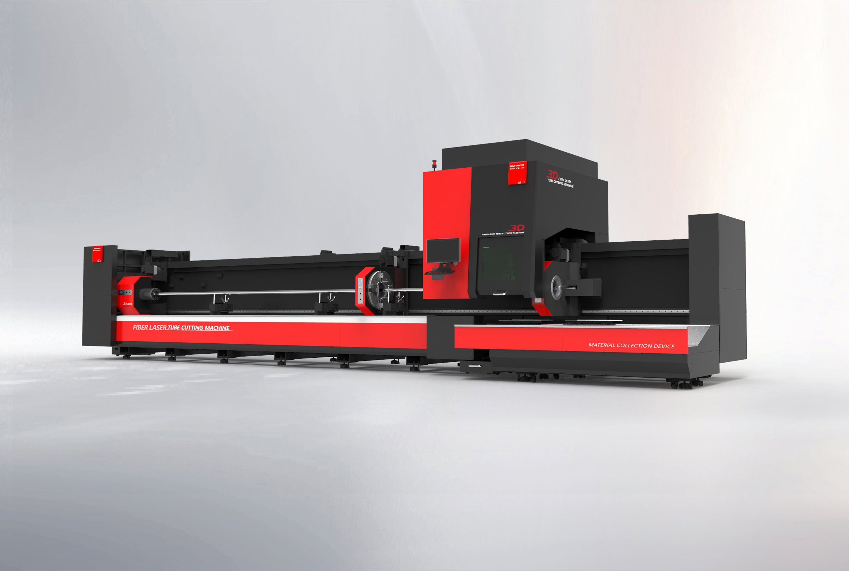 百超迪能D-SOAR系列三卡盘专业激光切管机简介