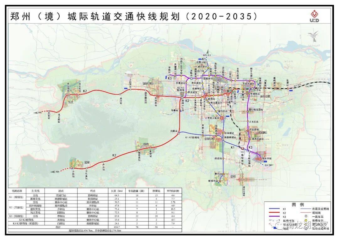 郑州K1线路曝光,南龙湖设置站点