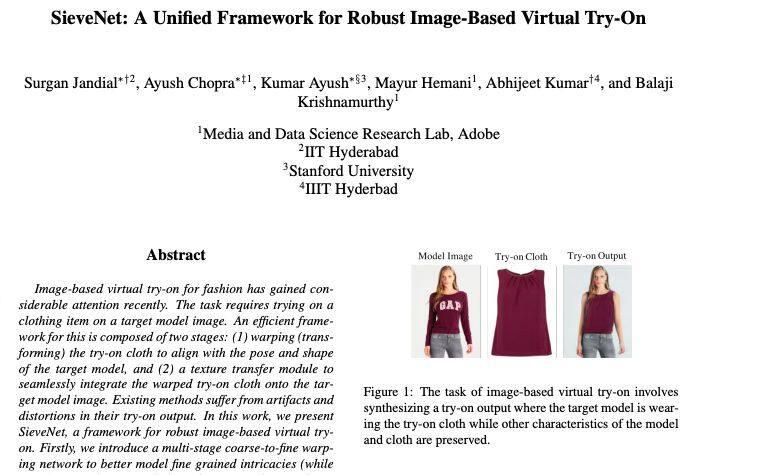 今日 Paper   依赖性解析器;DNNs对图像损坏;高效人脸特征学习 ;虚拟试穿统一框架等