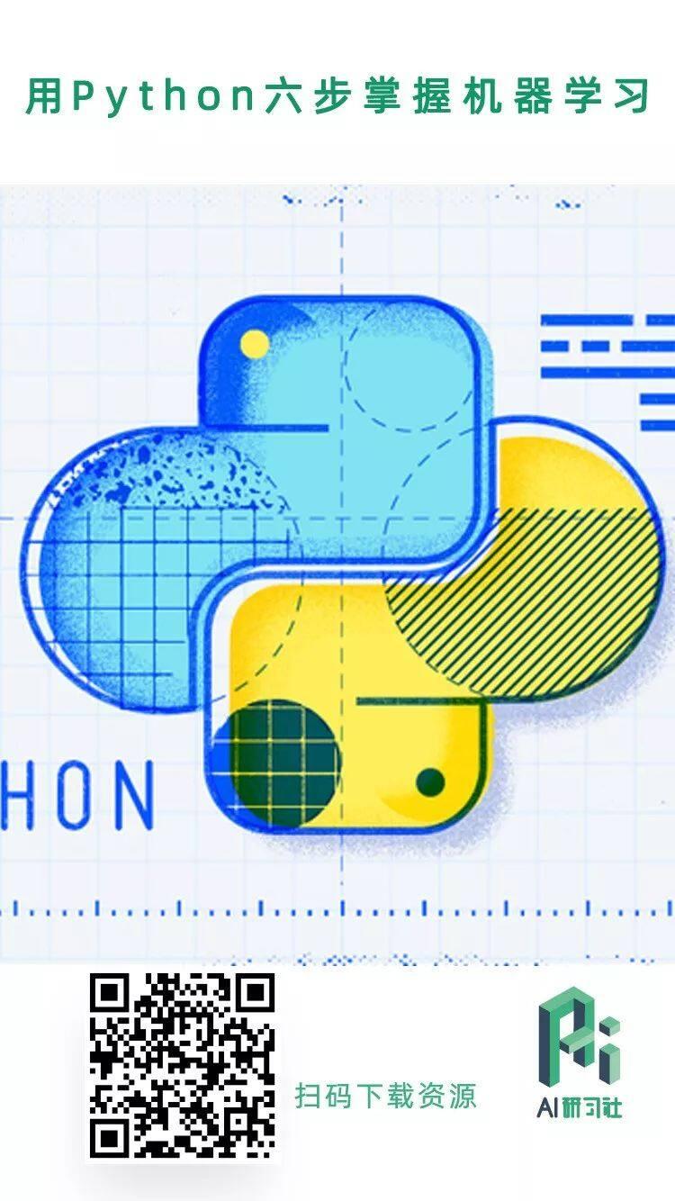 资料 | 《 用 Python 六步掌握机器学习 》