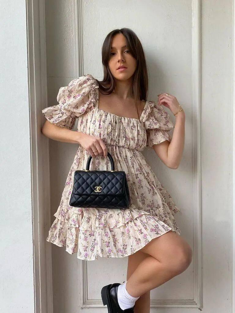 满大街的花裙子,这样穿比别人更美22