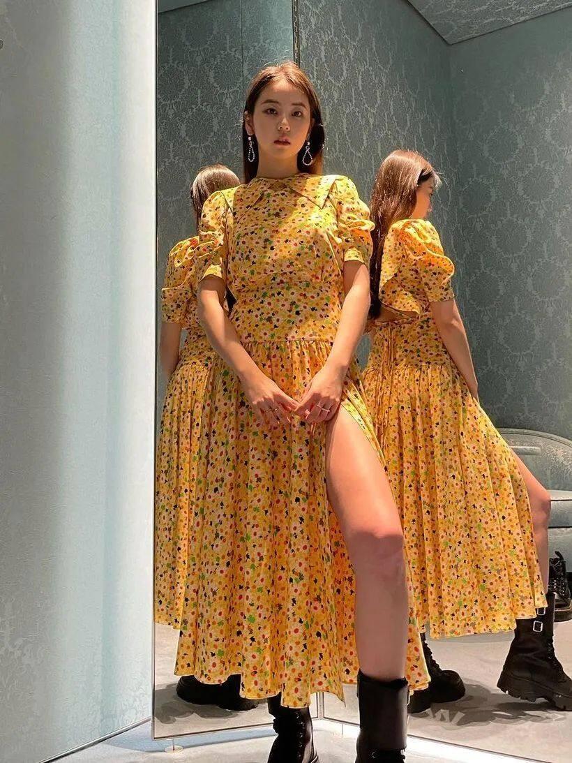 满大街的花裙子,这样穿比别人更美43