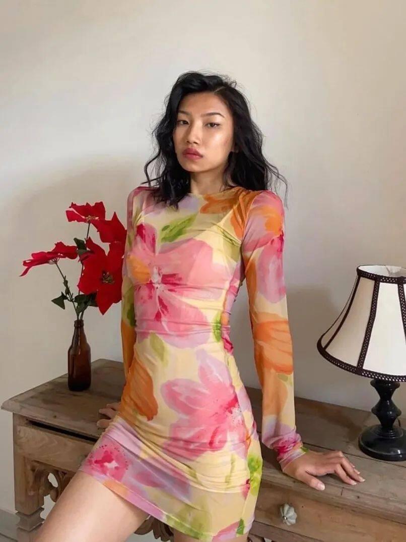 满大街的花裙子,这样穿比别人更美31