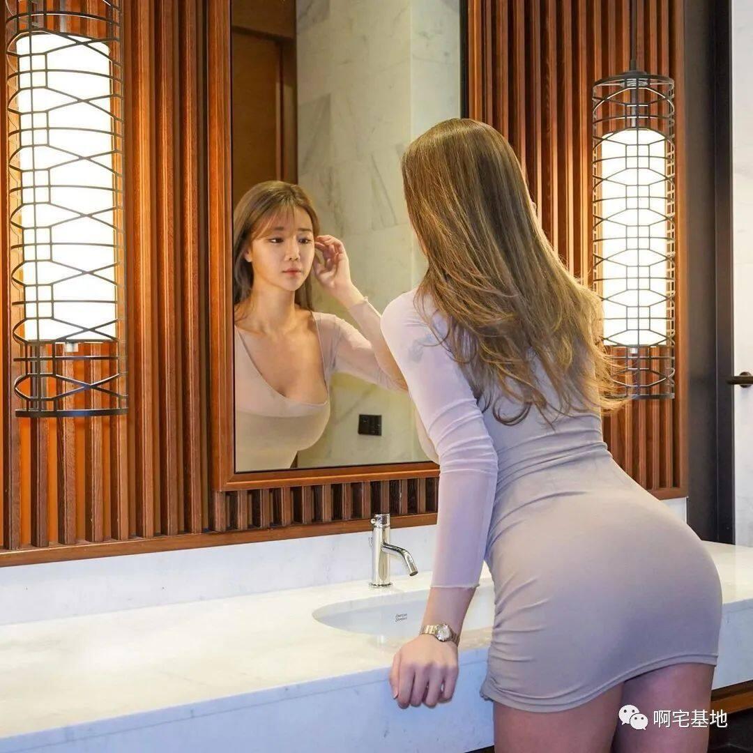 [微博福利]175cm的韩国大凶妹子10