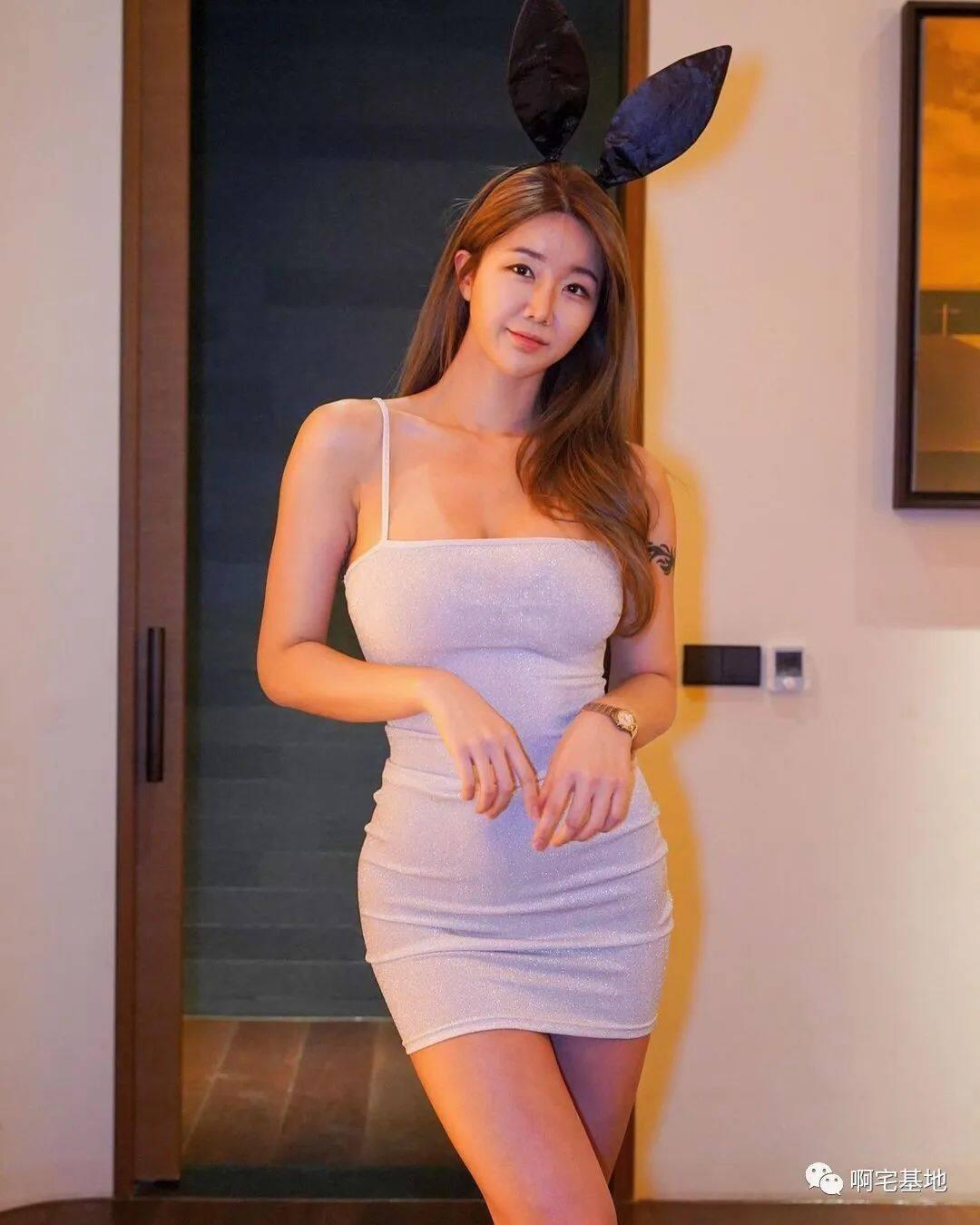 [微博福利]175cm的韩国大凶妹子9