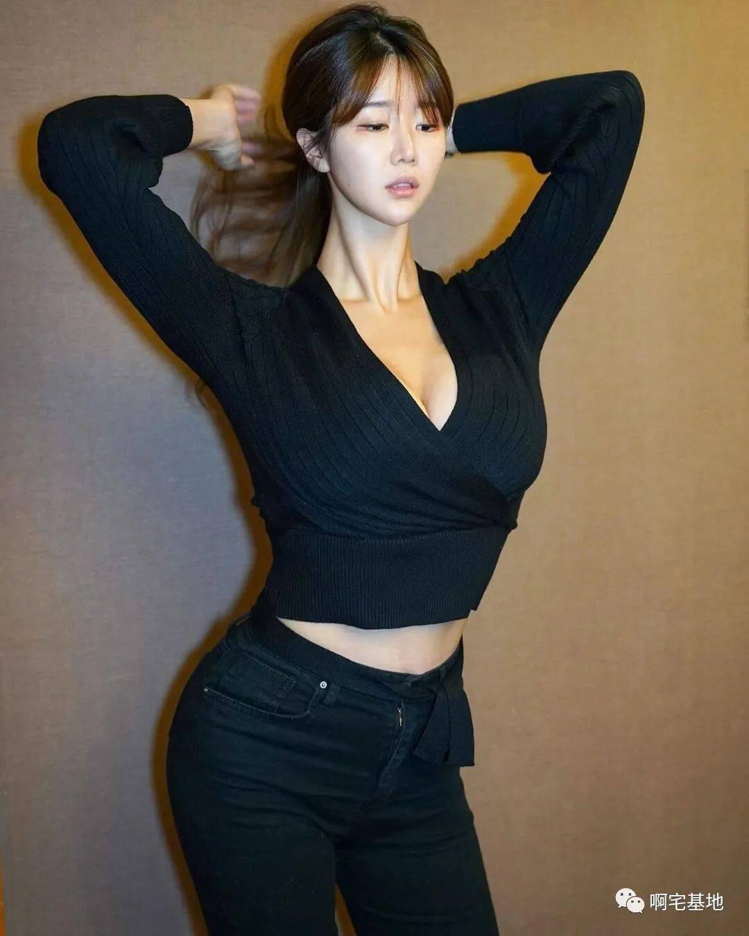 [微博福利]175cm的韩国大凶妹子4