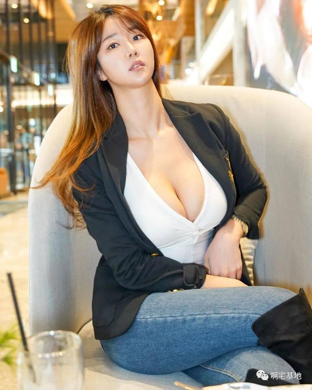 [微博福利]175cm的韩国大凶妹子3