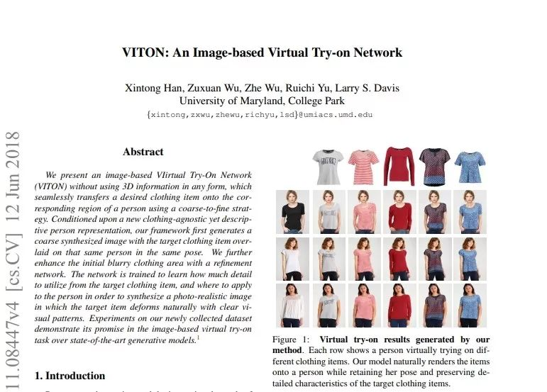 今日 Paper | 虚拟试穿网络;人群计数基准;联邦元学习;目标检测等-中国科技新闻网